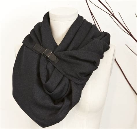 scarf buckle symmetry scarf with buckle good taste plus a dash of
