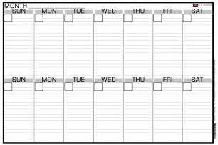 Calendar What Week 2 Week Calendar Template Blank Calendar 2017 Printable