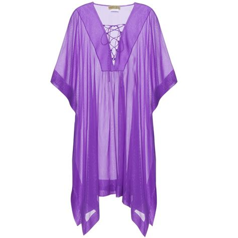 Kaftan Purple emilio pucci silk kaftan in purple lyst