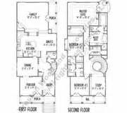 Small Patio Home Floor Plans 2 Story Home Floor Plans Inner City Narrow Lot