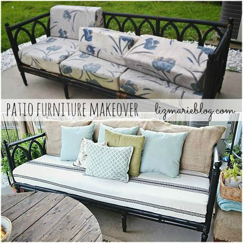 Patio Furniture Makeover by Outdoor Furniture Makeovers That Will You Away