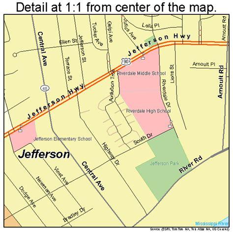 Jefferson L jefferson louisiana map 2238145