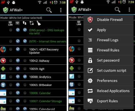 best firewall android 6 most efficient firewall apps for android