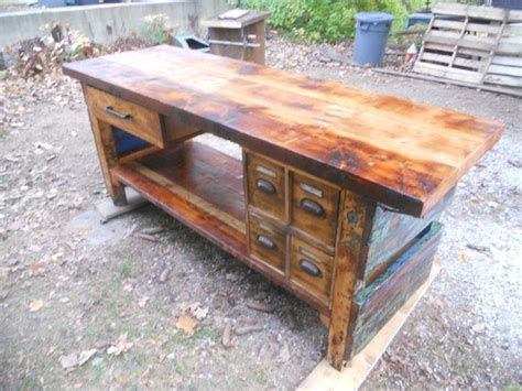 wooden island bench 17 best images about reclaimed on pinterest woodworking