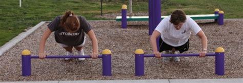 push  bars  outdoor fitness equipment