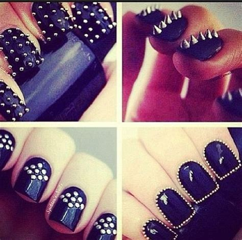 Studded Clutch Rock N Roll 41 best rock nails images on nails