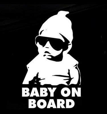 Baby On Board Meme - 25 best ideas about funny car stickers on pinterest