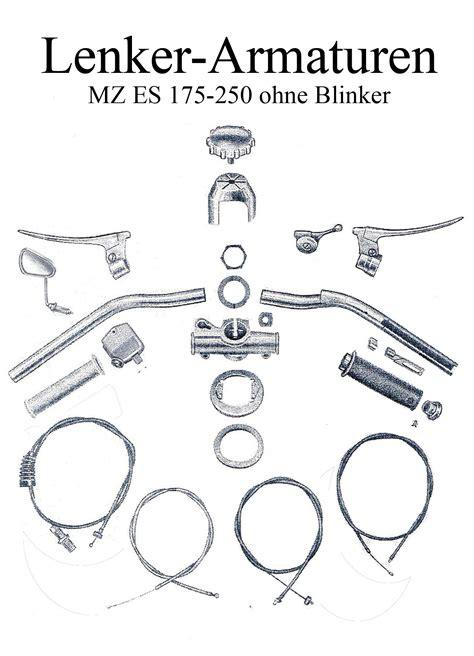 Mz Motorrad Teile by Ersatzteile F 252 R Mz Es 175 250 Im Ddr Motorrad De