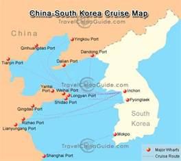 china korea china south korea cruise