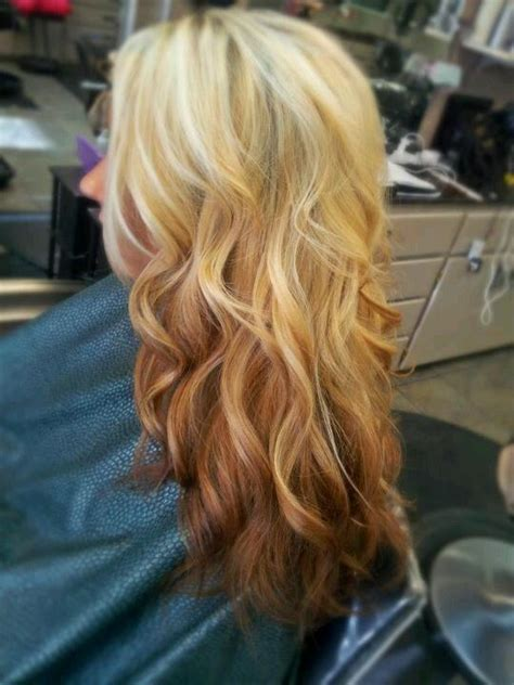 reverse ombre at home reverse copper ombre hairstyles how to