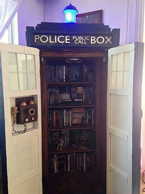17 best ideas about tardis bookshelf on doctor