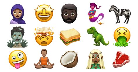 new iphone emojis apple previews new emoji coming later this year apple