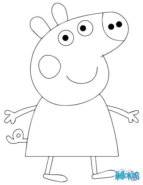 peppa pig cake template free 43 best images about coloring pages peppa pig on