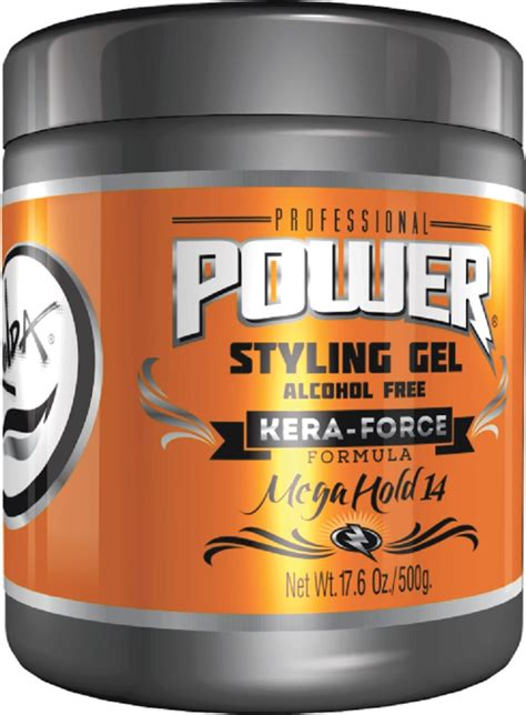 rolda black styling gel alcohol free ultra hold 17 63oz rolda styling gel power fix super strong hold alcohol free