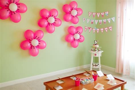 balloon decoration for birthday at home 7 lovable very easy balloon decoration ideas part 1