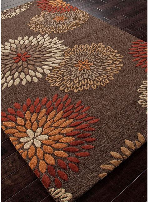 Orange And Brown Area Rug Pin By Stilago On Stilago Orange Brown Beige Pinterest