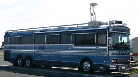 Motorhome Slide Out Awnings 1986 Blue Bird Wanderlodge Pt40 For Sale