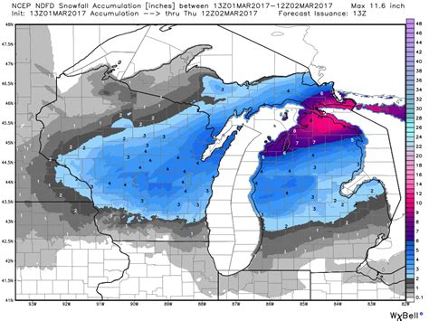 section 8 jackson mi winter s coming back to michigan with heavy snow in one