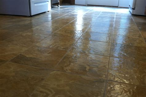 Preparing Concrete Floor For Vinyl Tile by How To Protect Vinyl Flooring From Moisture