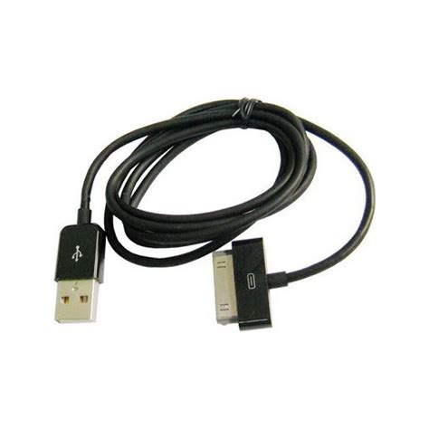 cable usb pour iphone 4 4s 3g 3gs 1 2 3 ipod touch noir