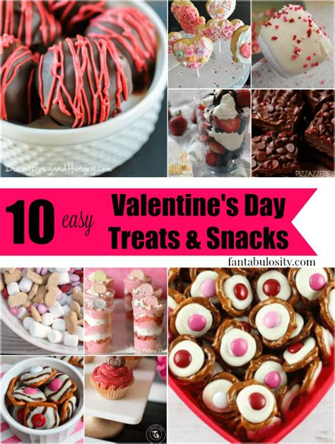 valentines treats for 10 easy valentines treats snack ideas for