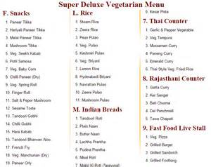 indian wedding dinner menu list vegetarian bhatia caterer in subash nagar west delhi delhi ncr