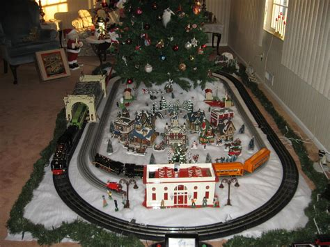 layout for christmas village who uses dept 56 original snow village or lemax buildings