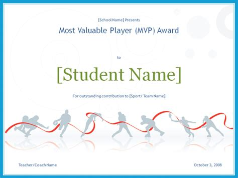 mvp certificate template mvp award certificate free certificate templates in