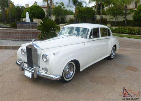 1959 Rolls Royce by 1959 Rolls Royce Silver Cloud Lwb No Reserve