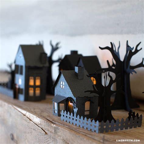 paper haunted village lia griffith