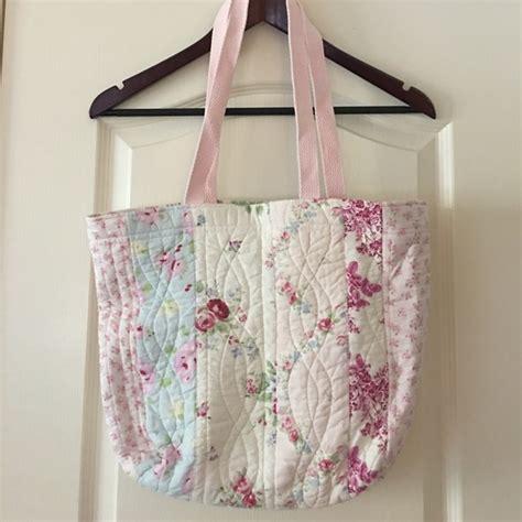 Tas Handbag Chic Pink 38 handbags new shabby chic pink roses tote reusable bag from s closet on poshmark