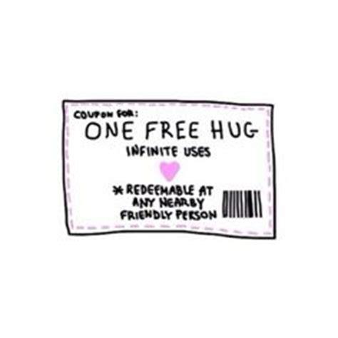 printable free hug coupons free hug coupon s valentim cora 231 245 es pinterest cora 231 227 o