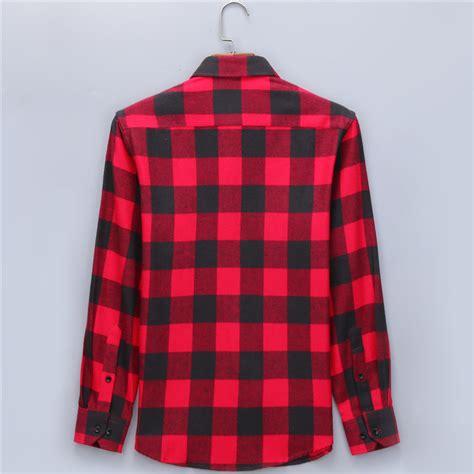 Plaid Casual Shirt casual plaid shirts brushed flannel shirt lalbug