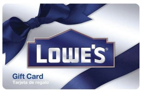 Lowes Gift Card 100 For 90 - 100 lowe s gift card for 90 by mail 90 00 buyvia