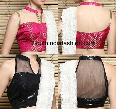 pattern of net 2015 collar neck blouse fashion trends south india fashion