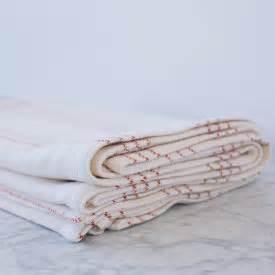 modern ticking cotton bed blanket amana woolen mill