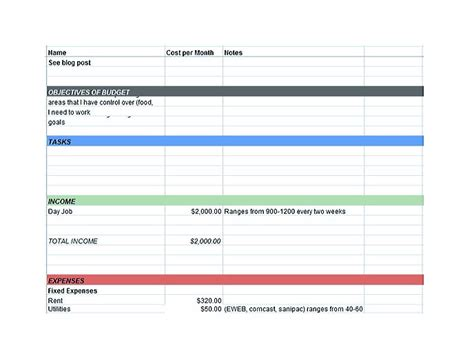 excel budget template google docs driverlayer search engine