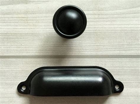 Black Door Knobs And Hinges by Black Retro Drawer Knob Dresser Pulls Cabinet Door Knobs