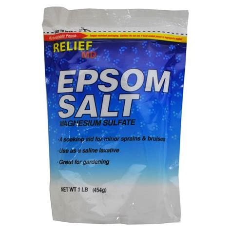 Salt L Wholesale by Wholesale Relief Epsom Salt In A Resealable Bag Glw