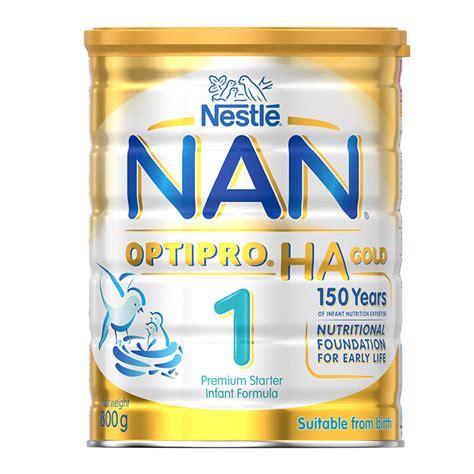 Formula Nan Ha 1 buy nan optipro formula ha 1 gold 800g at chemist