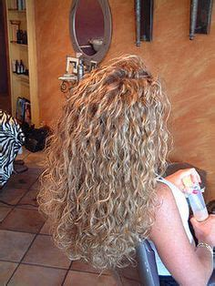 spiral curls toward the face period body wave perm before and after pictures google search