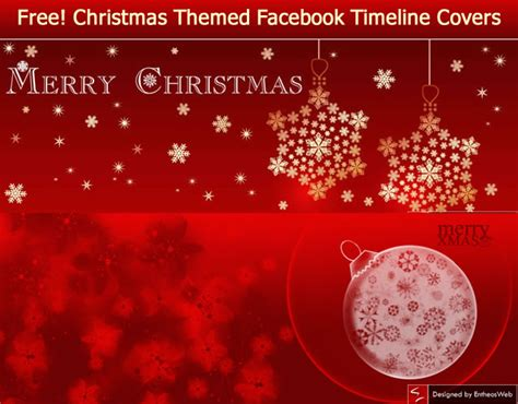 free facebook timeline covers free christmas facebook timeline covers entheos
