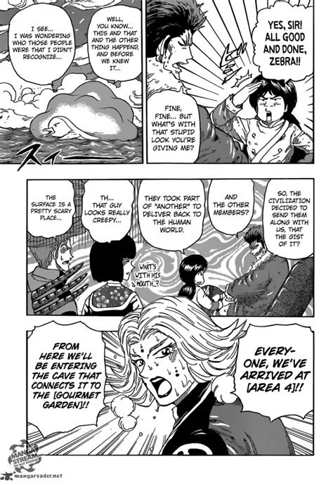 toriko reader read free toriko chapter 356 all coming together