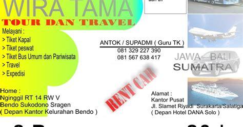 latar belakang membuat kartu nama kartu nama tour dan travel pak eko saja