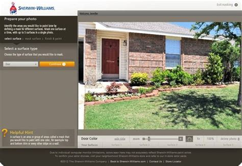 sherwin williams color visualizer for the home