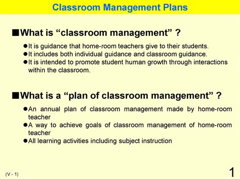 Classroom Management For Mba by Educational System Practice In Japan