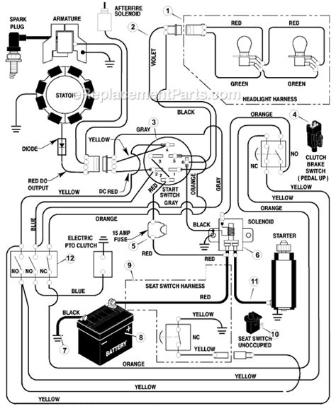 100 wiring diagram for murray ignition switch