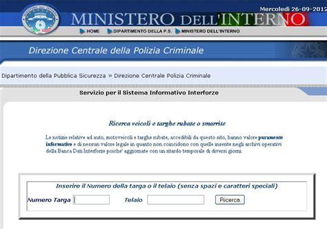 ministero interno targhe rubate polizia municipale e dintorni riforma lavoro entra