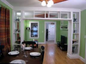 Divider Between Kitchen And Living Room by Fabulous Kitchen Dining Divider In Eye Catching Designs