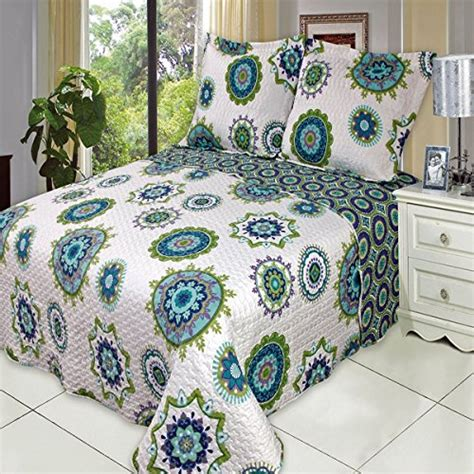 California King Size Quilts by Cool California King Size Sized Quilt 3pc Set